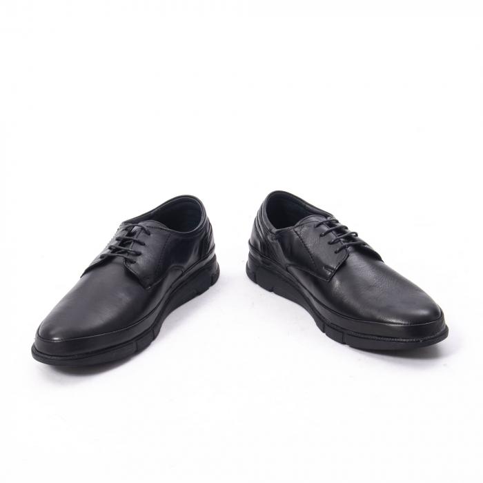 Pantofi casual de barbat din piele naturala, Catali 192550 negru 6