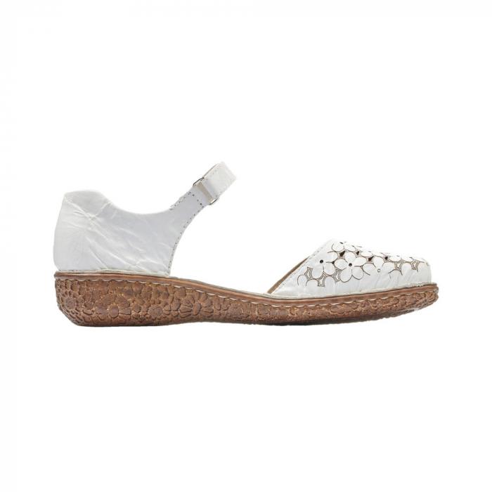 Pantofi dama, casual din piele naturala, RIK M0965-80 6