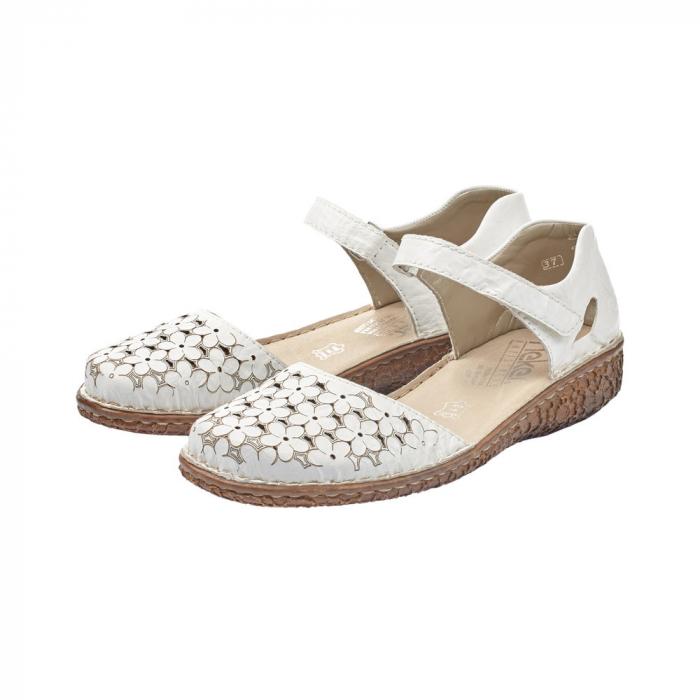 Pantofi dama, casual din piele naturala, RIK M0965-80 2