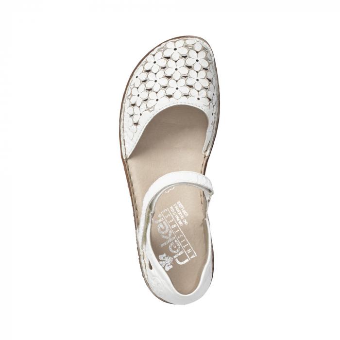 Pantofi dama, casual din piele naturala, RIK M0965-80 1