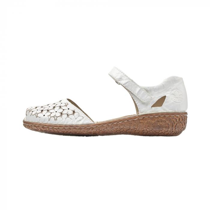 Pantofi dama, casual din piele naturala, RIK M0965-80 5
