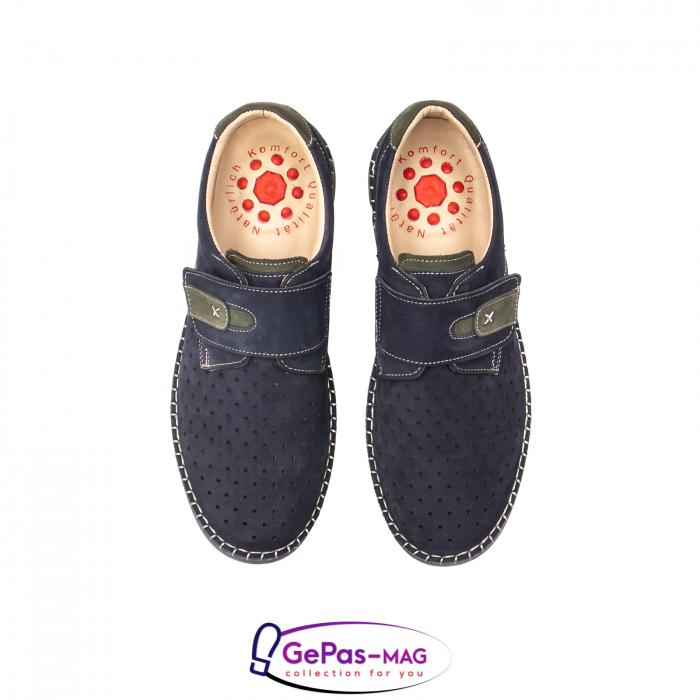 Pantofi casual vara pentru barbati, piele naturala, OT2828 42-2 5