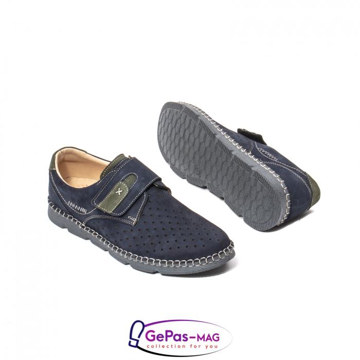 Pantofi casual vara pentru barbati, piele naturala, OT2828 42-2 3