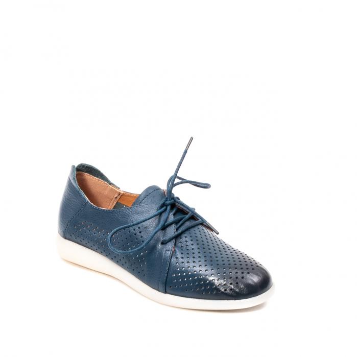 Pantofi dama vara casual, piele naturala, E7T9698 42-N 0
