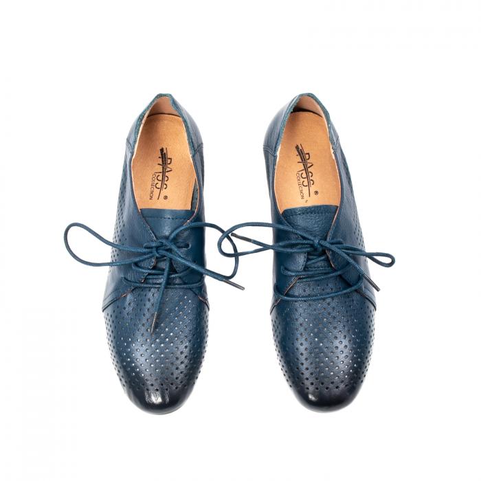 Pantofi dama vara casual, piele naturala, E7T9698 42-N 5
