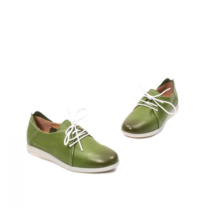 Pantofi dama vara casual, piele naturala, E7T9698 C5-N 1