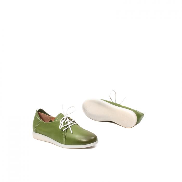 Pantofi dama vara casual, piele naturala, E7T9698 C5-N 3