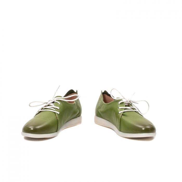 Pantofi dama vara casual, piele naturala, E7T9698 C5-N 4