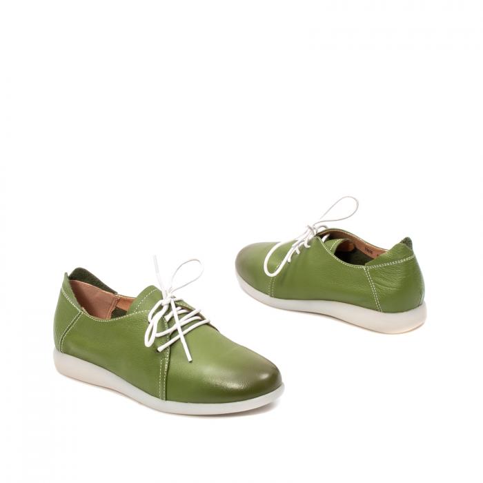 Pantofi dama vara casual, piele naturala, E7T9698 C5-N 2