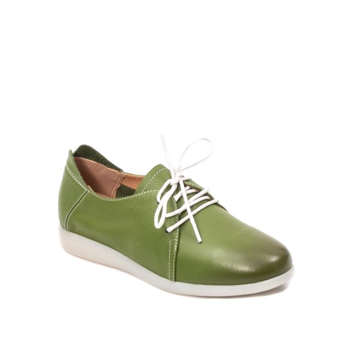Pantofi dama vara casual, piele naturala, E7T9698 C5-N 0
