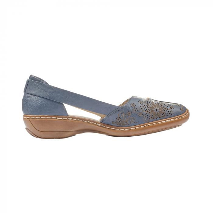 Pantofi vara dama casual, RIK-41396-12 4