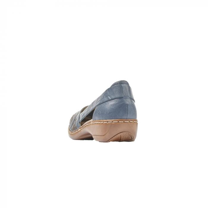 Pantofi vara dama casual, RIK-41396-12 3