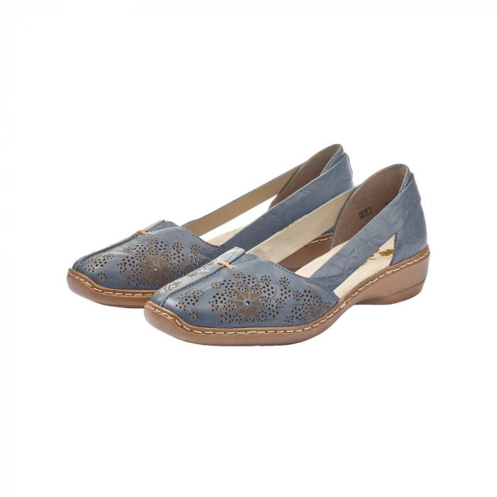 Pantofi vara dama casual, RIK-41396-12 6
