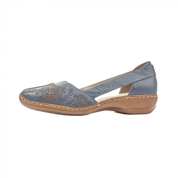Pantofi vara dama casual, RIK-41396-12 5
