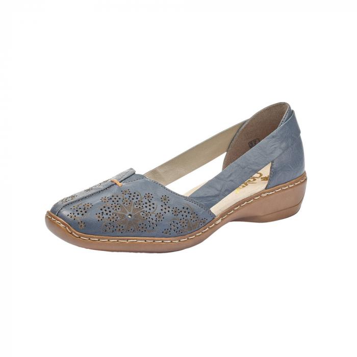 Pantofi vara dama casual, RIK-41396-12 0