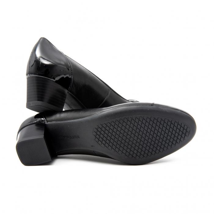 Pantofi dama eleganti piele naturala Ara 3585, Negru 4