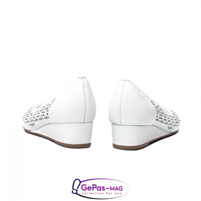 Pantofi dama de vara, piele naturala, 12-14334 6