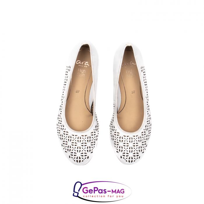 Pantofi dama de vara, piele naturala, 12-14334 5