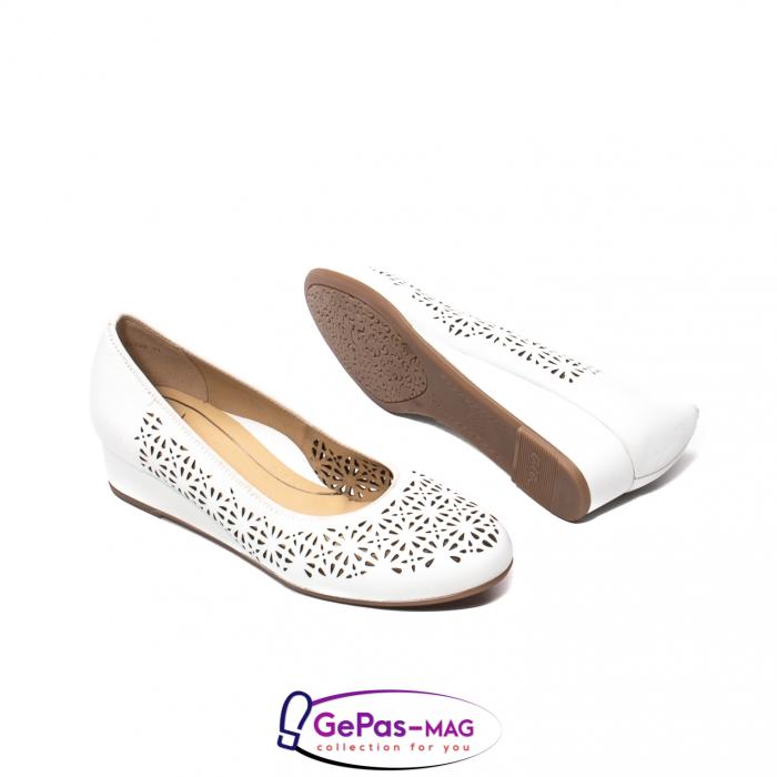Pantofi dama de vara, piele naturala, 12-14334 3