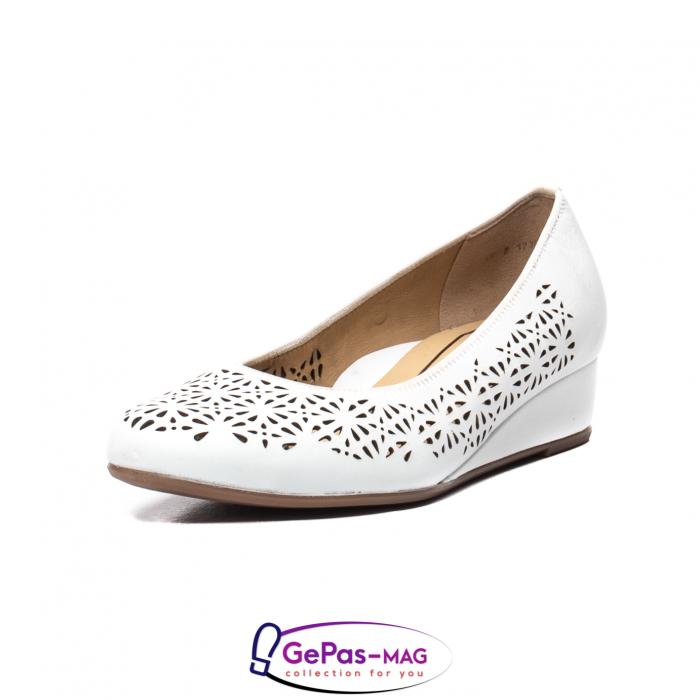 Pantofi dama de vara, piele naturala, 12-14334 0