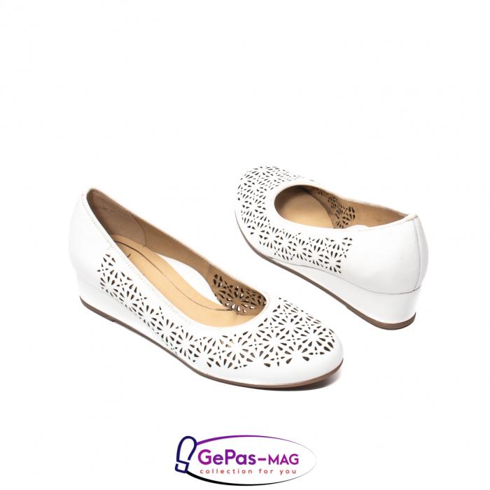 Pantofi dama de vara, piele naturala, 12-14334 2