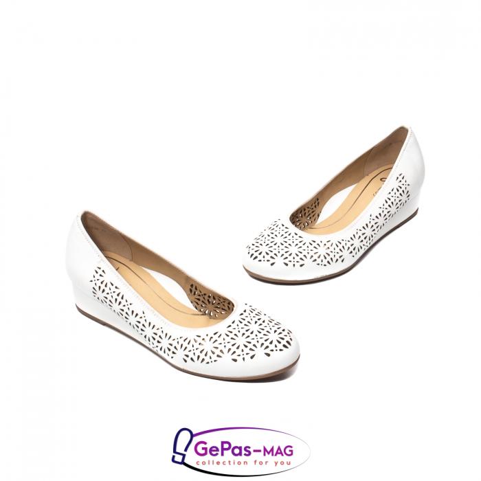 Pantofi dama de vara, piele naturala, 12-14334 1