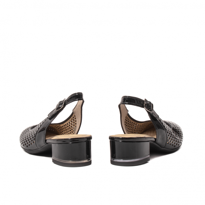 Pantofi dama decupati, piele naturala, AR11863 6