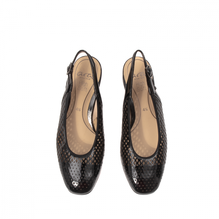 Pantofi dama decupati, piele naturala, AR11863 5