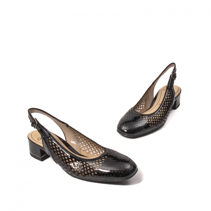 Pantofi dama decupati, piele naturala, AR11863 1