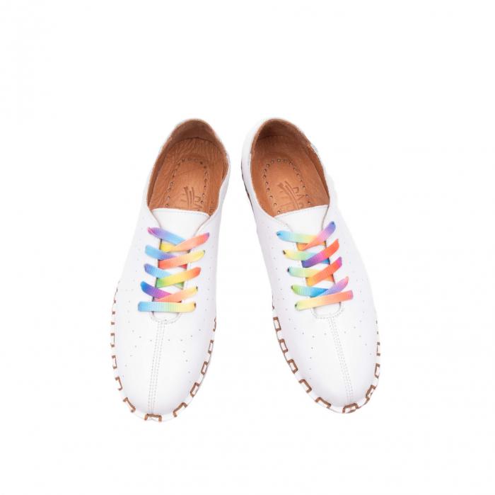 Pantofi dama, casual din piele naturala, E2H19Y2902 13-N 1
