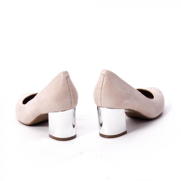 Pantofi dama eleganti piele naturala Epica oe7122, nude 6