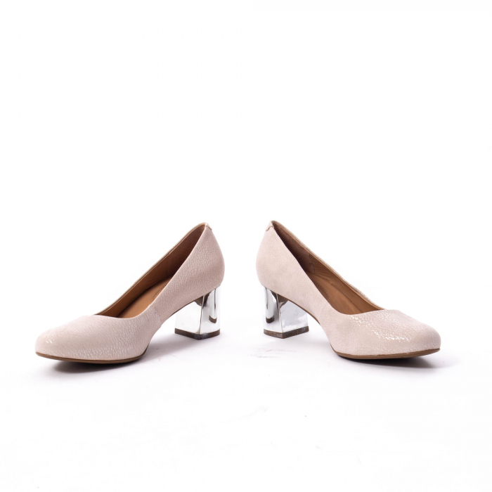 Pantofi dama eleganti piele naturala Epica oe7122, nude 4
