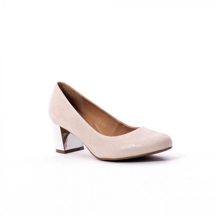 Pantofi dama eleganti piele naturala Epica oe7122, nude 0