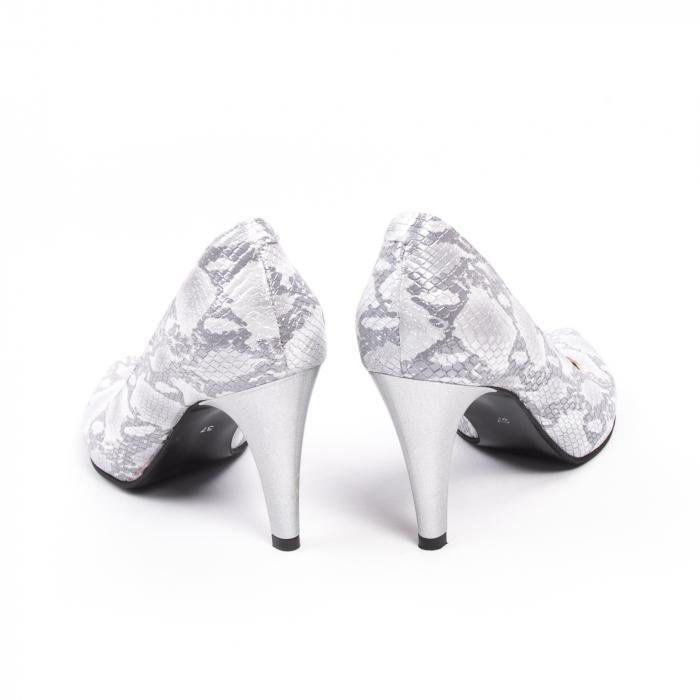 Pantofi dama Nike Invest 11702A piele naturala, argintiu 6