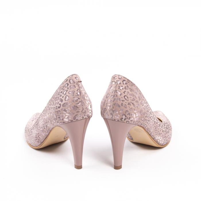 Pantofi dama Nike Invest 11709B piele naturala, pudra 6