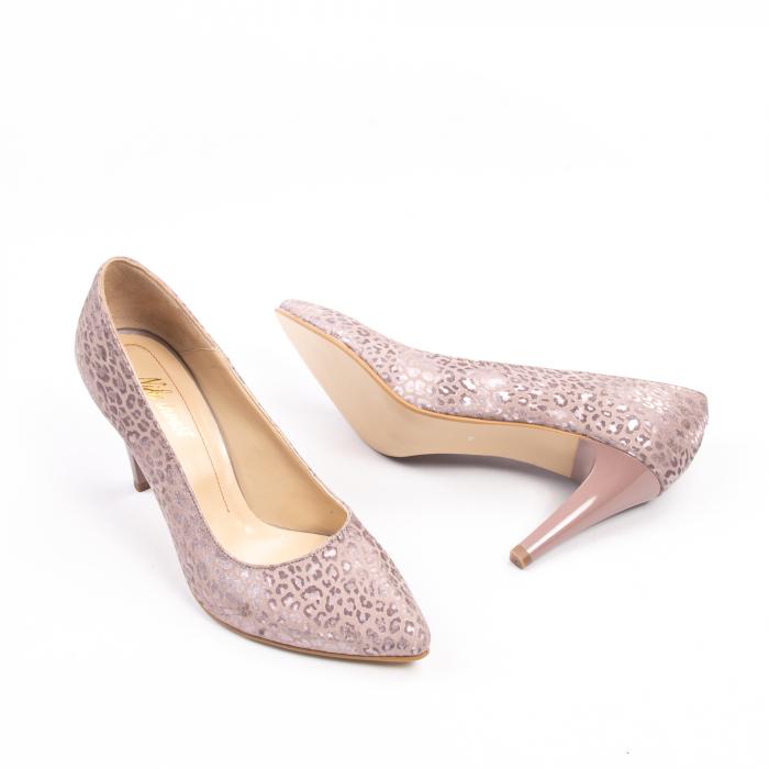 Pantofi dama Nike Invest 11709B piele naturala, pudra 3