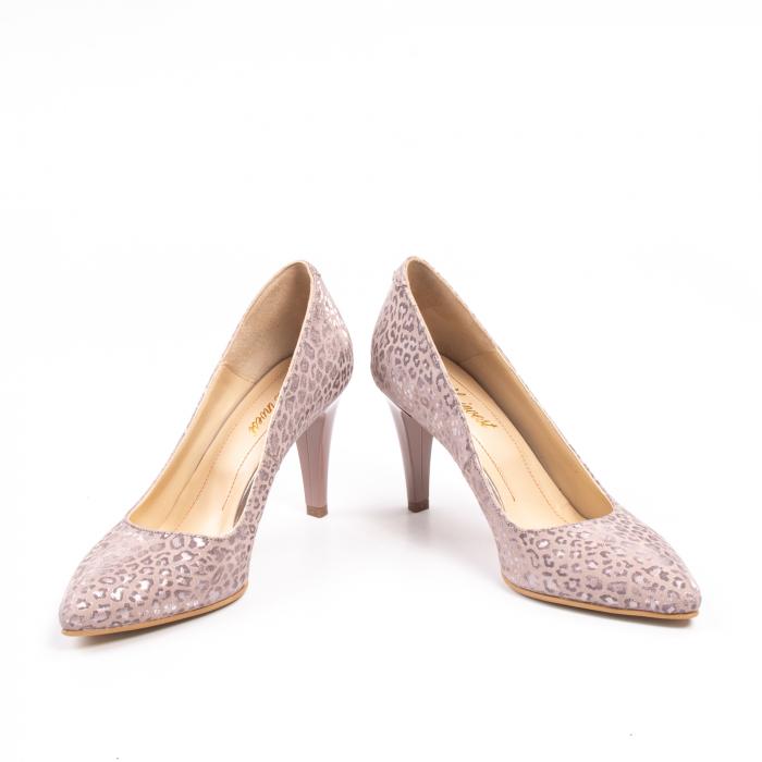 Pantofi dama Nike Invest 11709B piele naturala, pudra 4