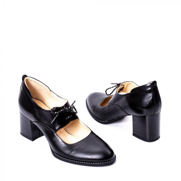 Pantofi dama piele naturala Nike Invest 327, negru 2