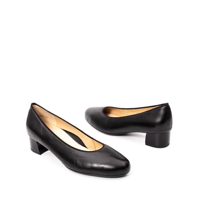 Pantofi dama piele naturala Ara 16601, negru 2