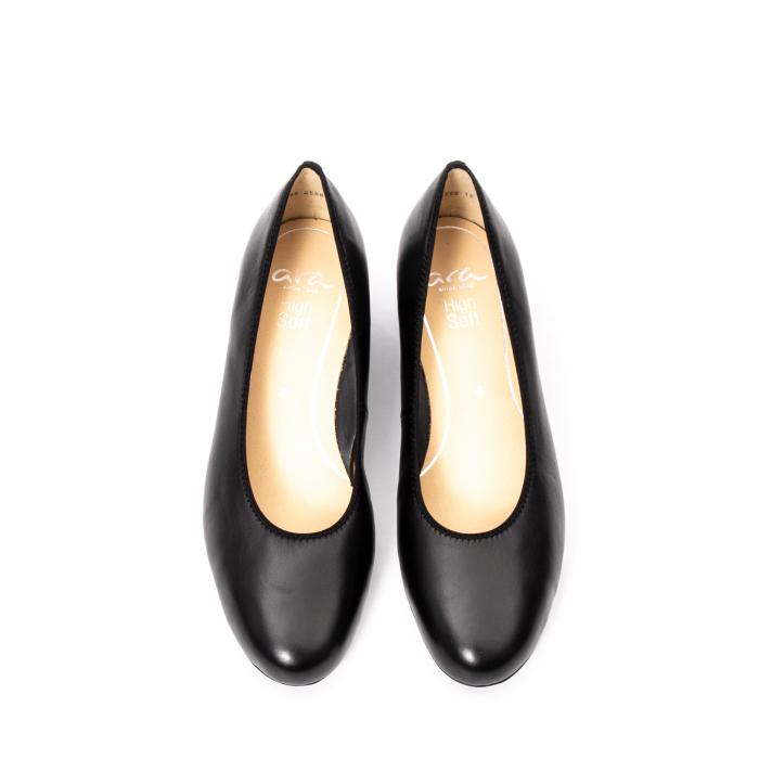 Pantofi dama piele naturala Ara 16601, negru 5