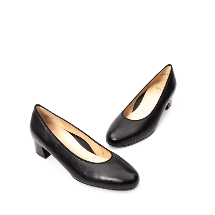 Pantofi dama piele naturala Ara 16601, negru 1