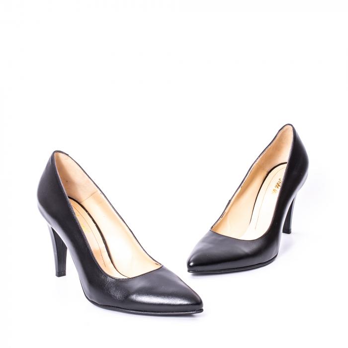Pantofi dama piele naturala Nike Invest 1170N, negru 1