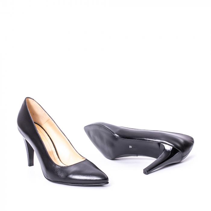 Pantofi dama piele naturala Nike Invest 1170N, negru 3