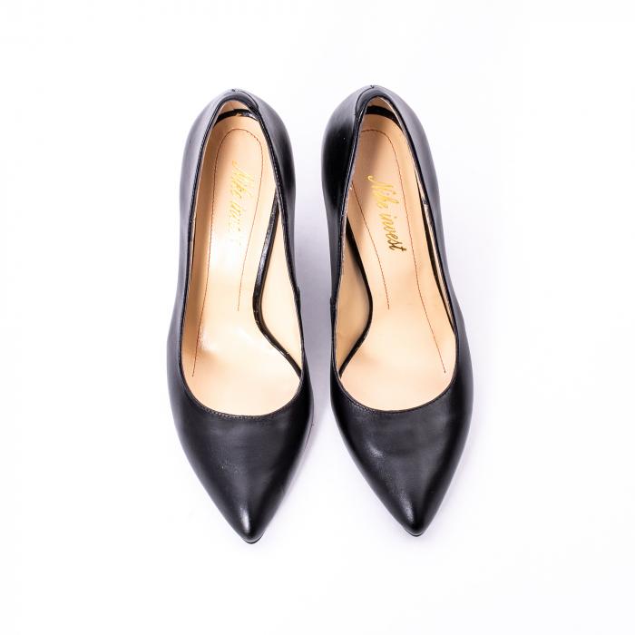 Pantofi dama piele naturala Nike Invest 1170N, negru 5