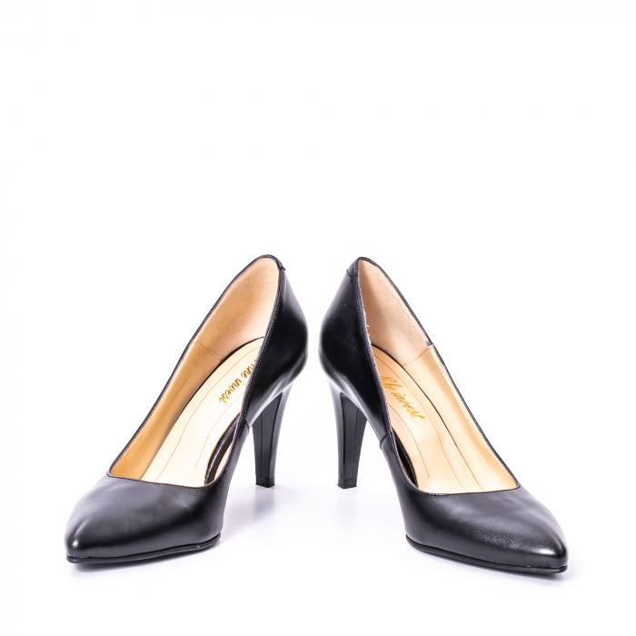 Pantofi dama piele naturala Nike Invest 1170N, negru 4