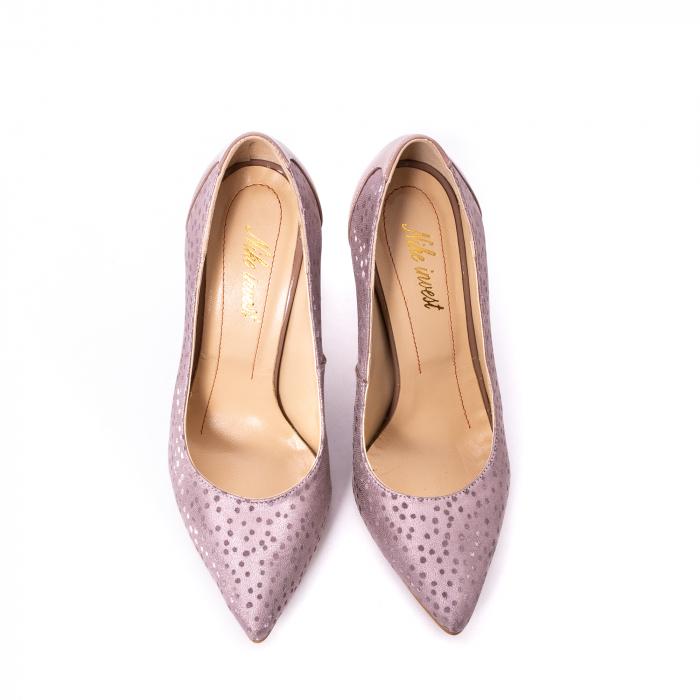 Pantofi dama piele naturala texturata Nike Invest 329 2CLB16, roz 5
