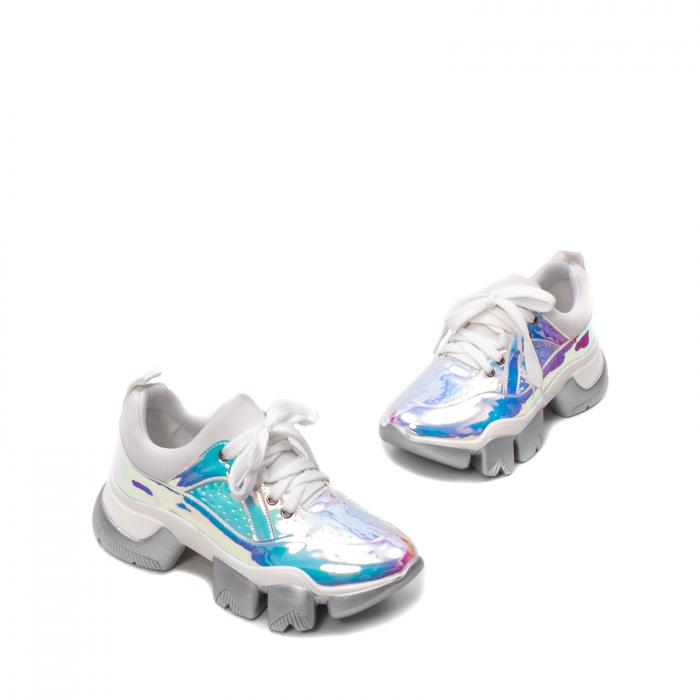 Pantofi dama sport, piele ecologica,  A6M099-2 F3-Z 1