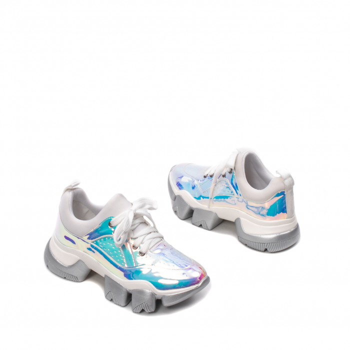 Pantofi dama sport, piele ecologica,  A6M099-2 F3-Z 2
