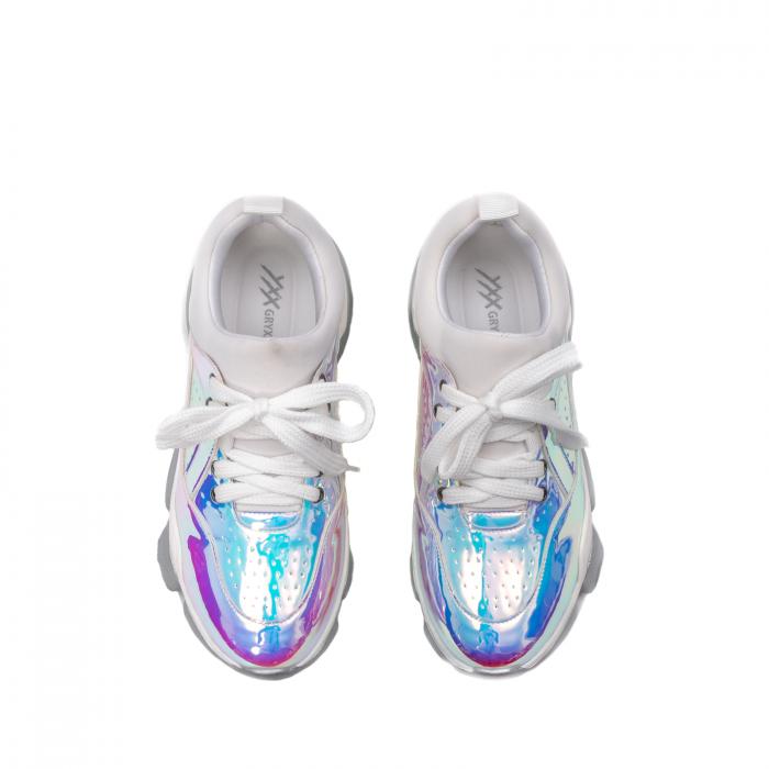 Pantofi dama sport, piele ecologica,  A6M099-2 F3-Z 5