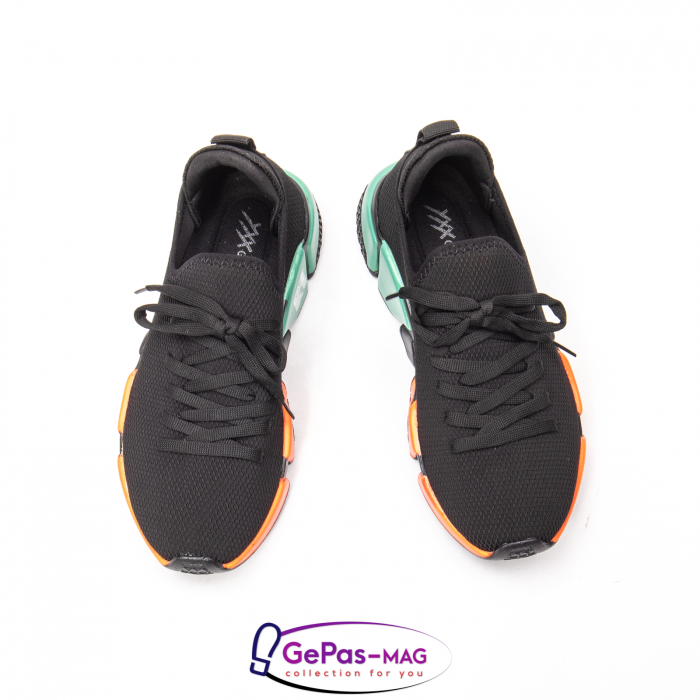 Pantofi dama sport din material textil, A6M044-029 01-T 3
